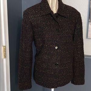 2/$15 Sag Harbor Wool like jacket